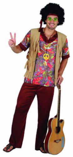 Woodstock Hippie Man - Adult - Red Top Box  sc 1 st  Brisbane Costumes & Adults collection u2013 Tagged