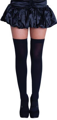 Thigh High Tights - Black - Oktoberfest - Red Top Box