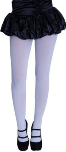 Full Length Tights - White - Red Top Box
