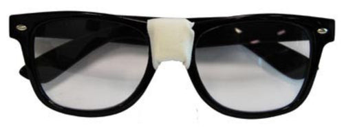 Billy Bob Glasses for Austin Powers/Nerd - Red Top Box