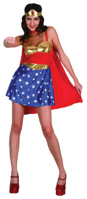 Super Wonder Woman - Adult - Red Top Box