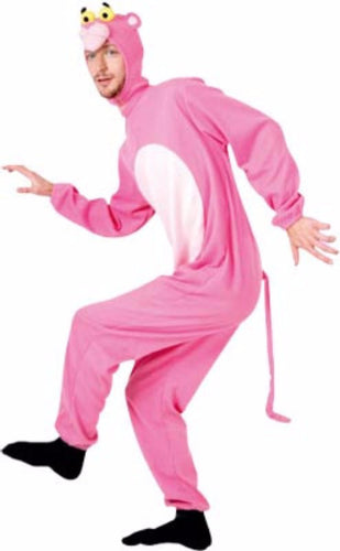Adult Onesie - like Pink Panther style - Red Top Box