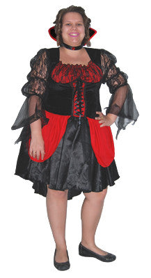 Hot Vampiress - Adult Plus - Halloween - Red Top Box