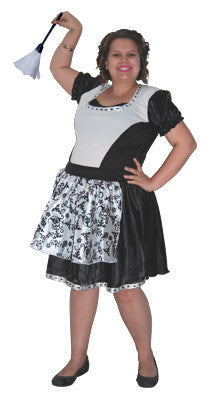 Gothic Maid - Adult Plus - Red Top Box