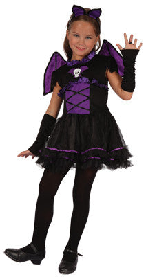 Purple Bat Girl - Child - Vampire - Red Top Box