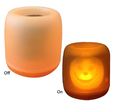 Blow Out Candle Light w/Hallown Design - Red Top Box