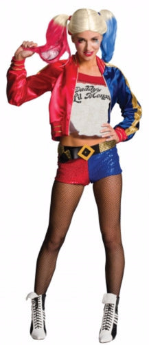 Harley Quinn Fancy Dress Costume - Licensed - Supanova - Oz Comic Con - Brisbane Costumes