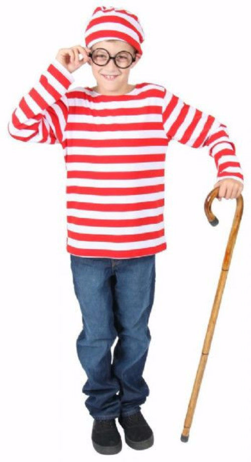 Wheres Wally - Child - Book Week - Red Top Box