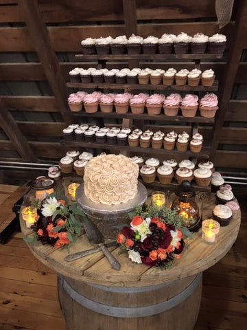Perfect Cupcakes for your Wedding Day!