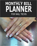 Monthly Bill Planner For Nail Techs