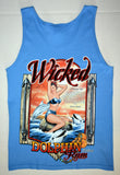 Wicked Dolphin Pin-Up Tank