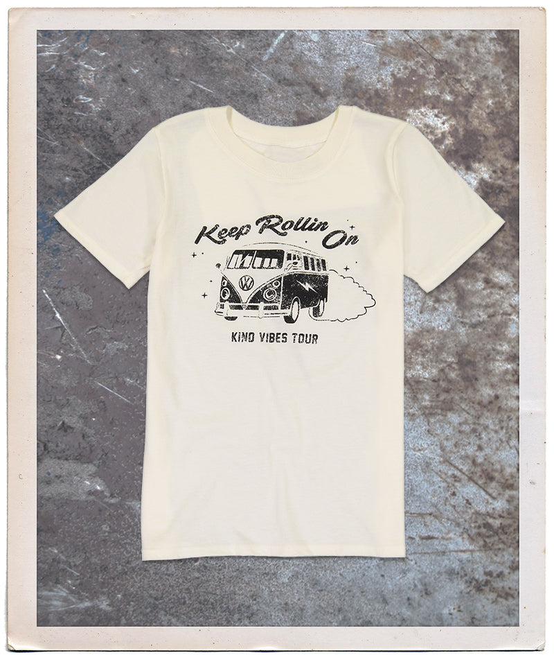 Keep Rollin On Tee Adult