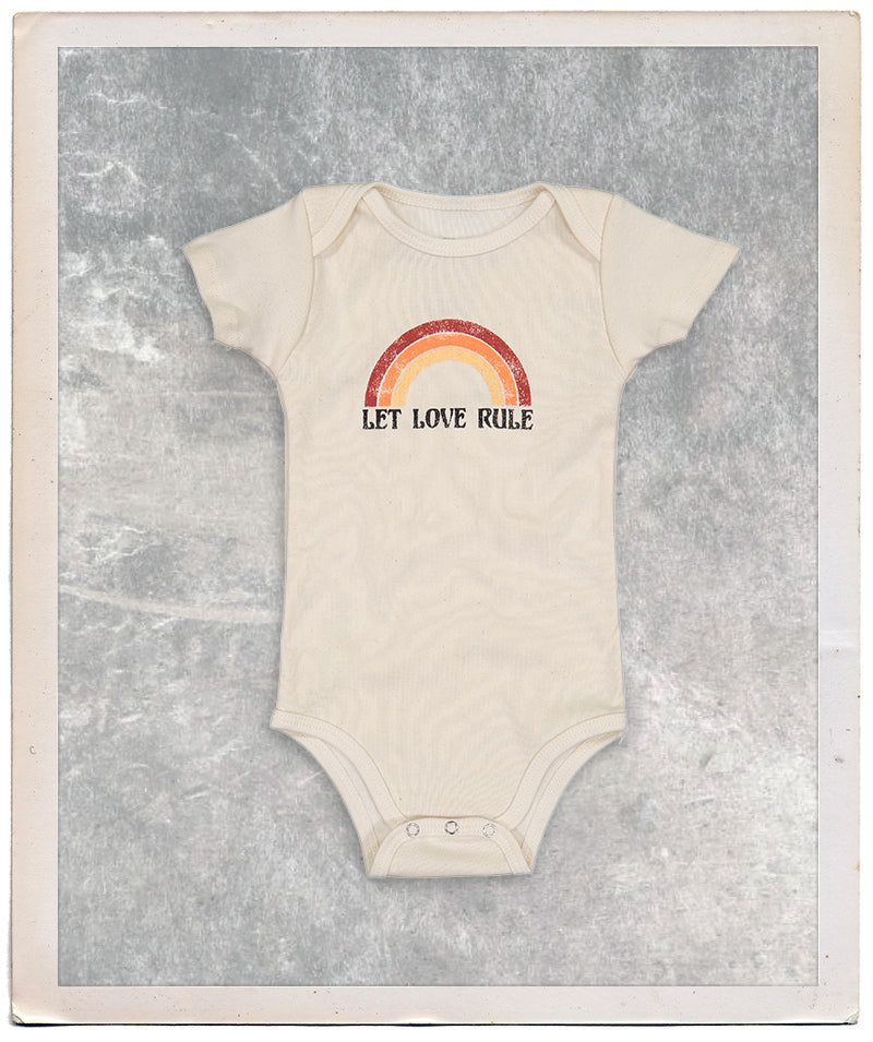 Let Love Rule Onesie