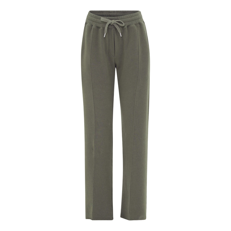 Adita army sweat pants in loose fit and elastic waist