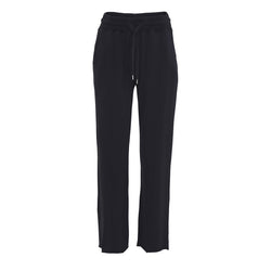 ADITA dark grey sweat pants with loose fit and elastic waist
