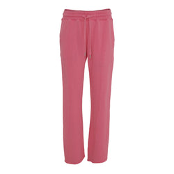 ADITA pink sweat pants with loose fit and elastic waist