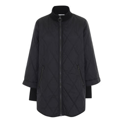 Nikki nylon jacket black