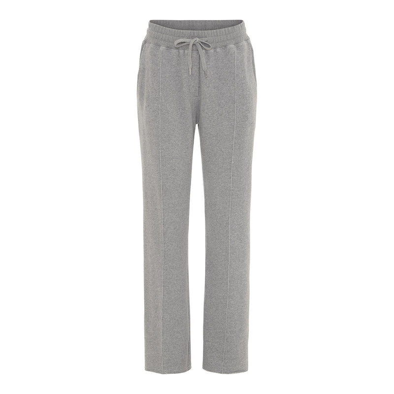 adita grey sweat pants with cord string and loose fit