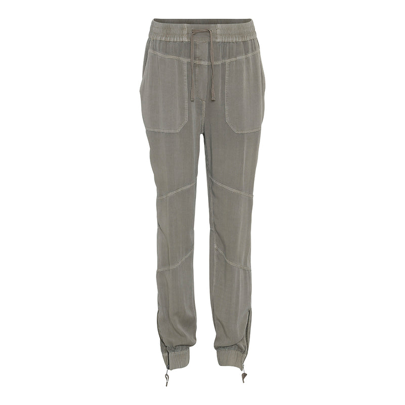 project aj Denver pants moss with elastic waist