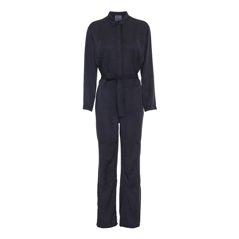 project aj houston jumpsuit in midnight blue