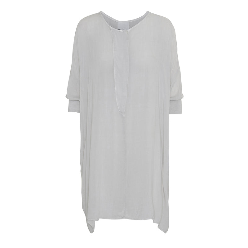 project aj117 Roxanne soft oversize tunic tee in light grey
