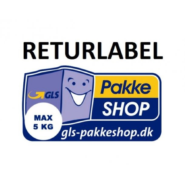RETURN LABEL WITHIN DENMARK