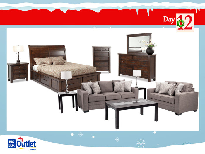 Deal 12 - We Pay The Tax On All Furniture - 12 Deal of Christmas