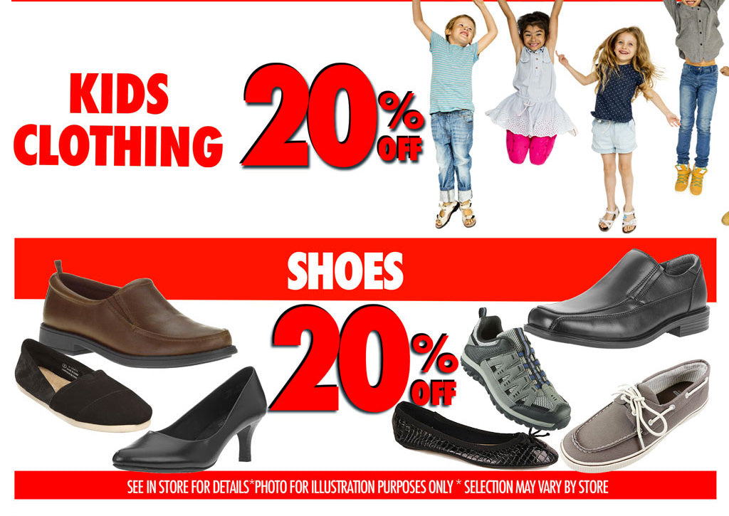 Kids Clothing and shoes 20%off