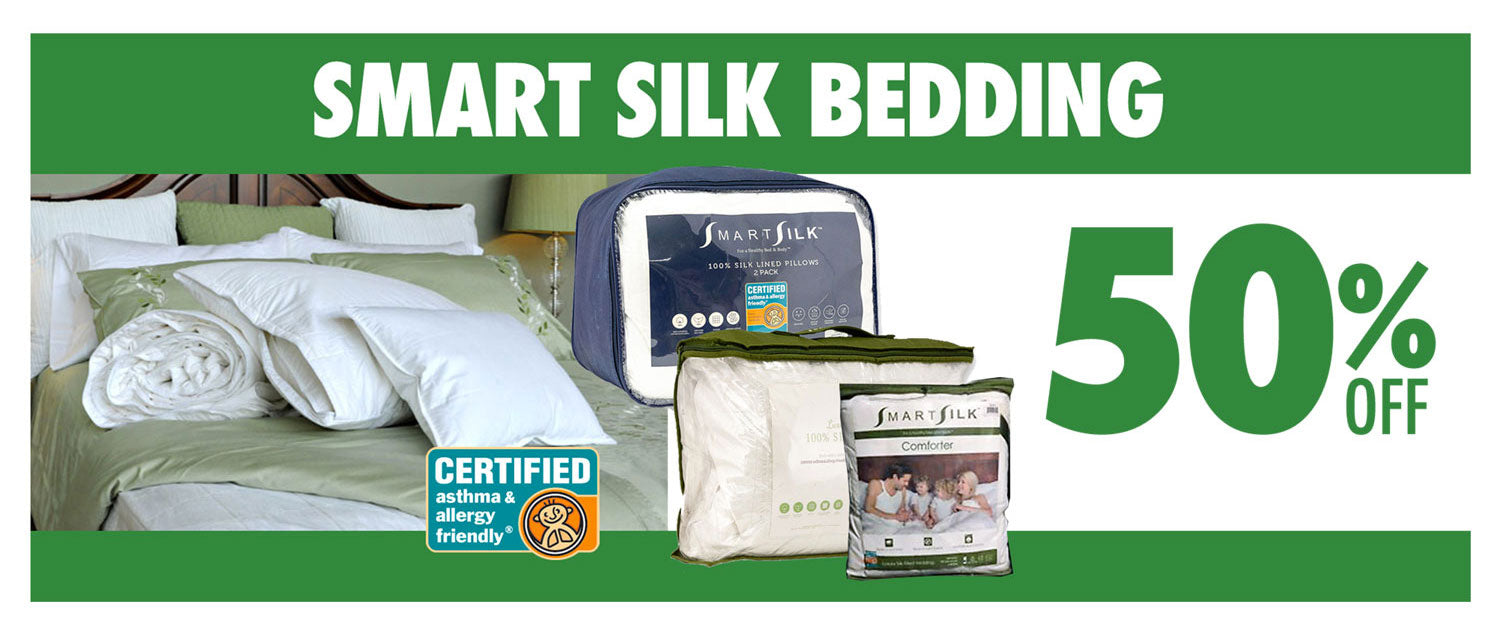 SmartSilk Bedding 50%off