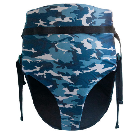 Blue Camo BumFloat (Made in USA)