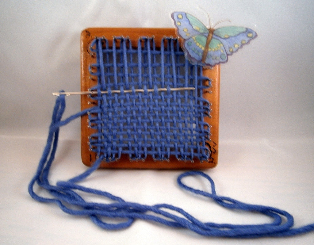 Weavette Looms - Blue Butterfly Original's Skipper Pin Looms