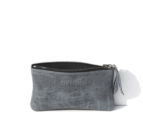 ZIP COIN CASE | GREY