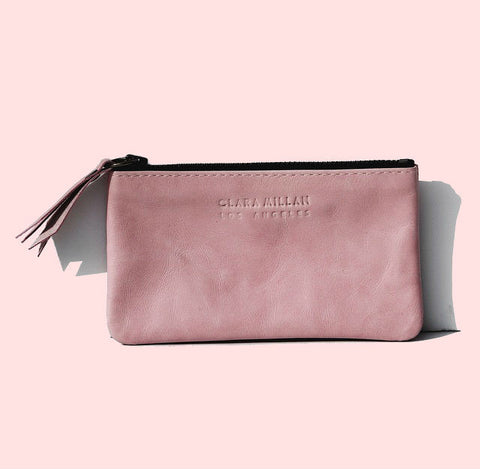 ZIP COIN CASE | PINK