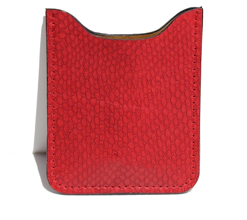 ZOE LEATHER CARD HOLDER - CLARAMILLAN