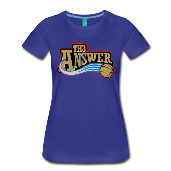 Th3 Answer Women's T-Shirt - royal blue