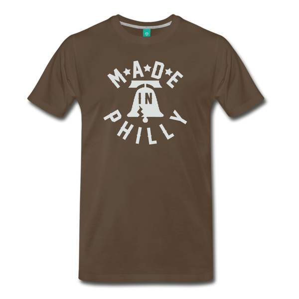 Made in Philly Men's T-Shirt - noble brown