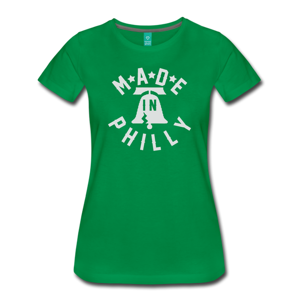 Made in Philly Women's T-Shirt - kelly green