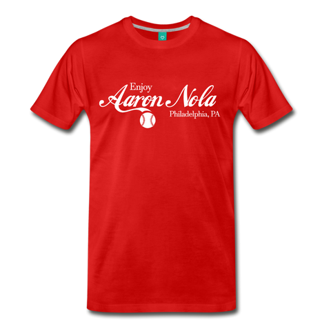 Coca-Nola Men's T-Shirt - red