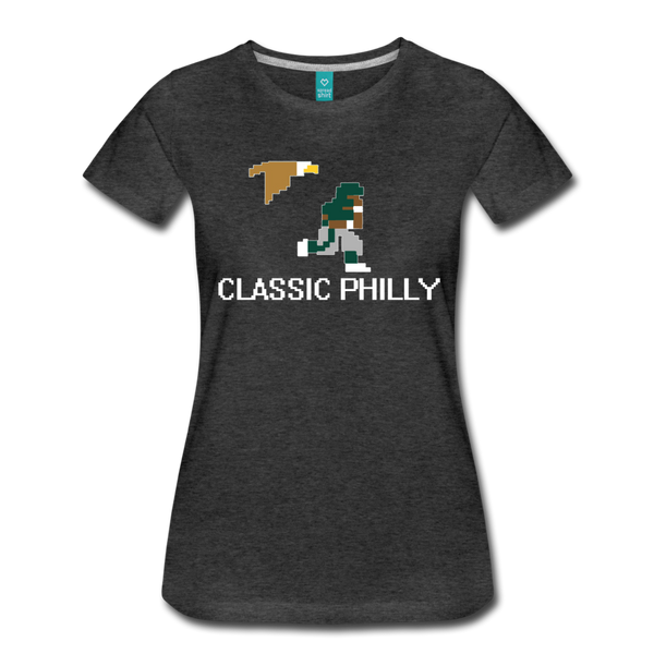 Classic Philly Women's T-Shirt - charcoal gray