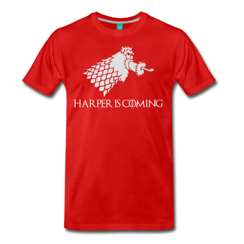 Harper is Coming Men's T-Shirt - red
