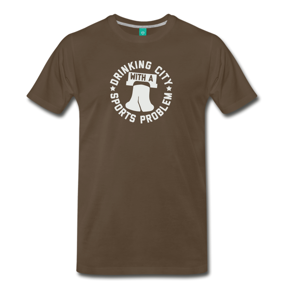 Sports Problem Men's T-Shirt - noble brown