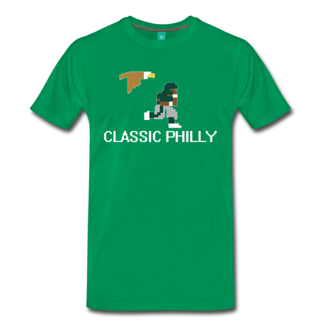 Classic Philly Men's T-Shirt - kelly green