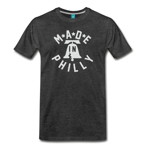 Made in Philly Men's T-Shirt - charcoal gray