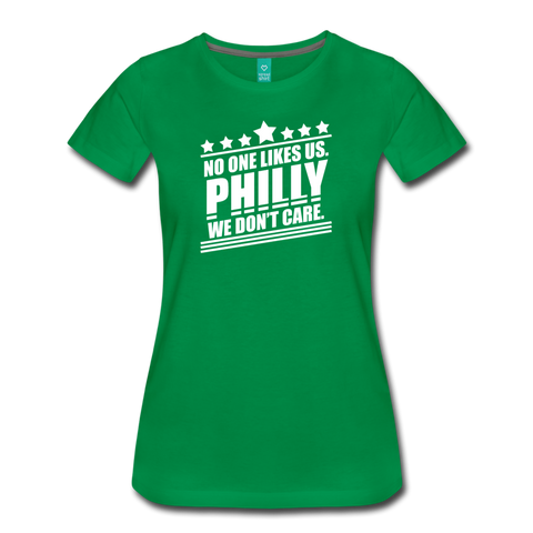 No One Likes Us Women's T-Shirt - kelly green