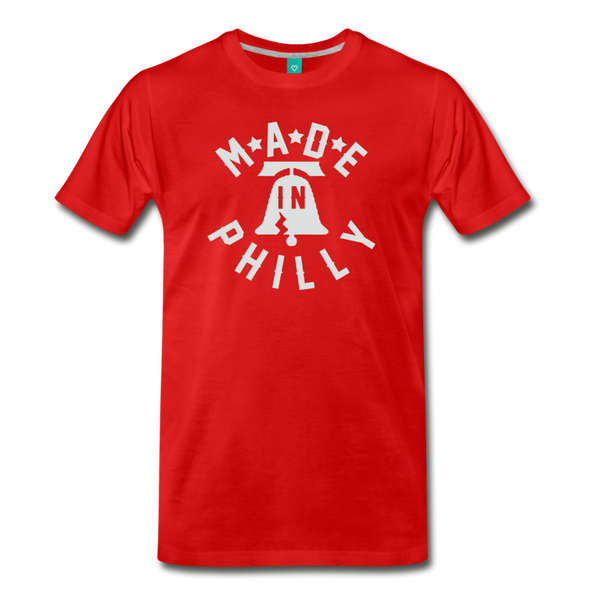 Made in Philly Men's T-Shirt - red