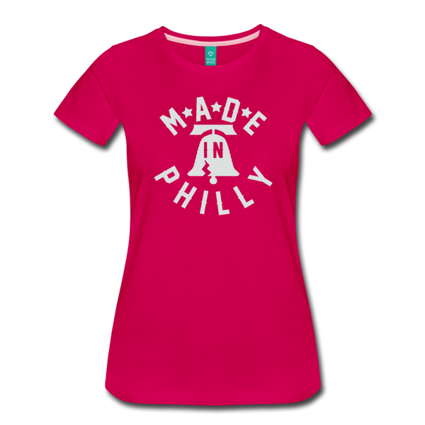 Made in Philly Women's T-Shirt - dark pink