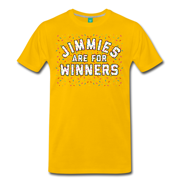 Jimmies Men's T-Shirt - sun yellow
