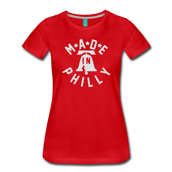 Made in Philly Women's T-Shirt - red