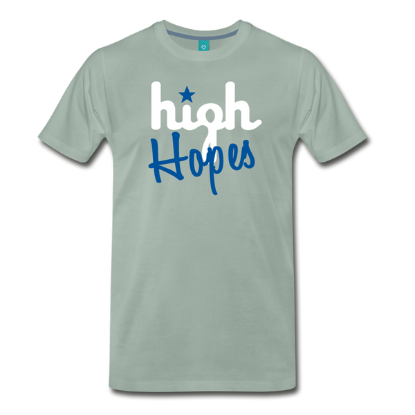 High Hopes Men's T-Shirt - steel green