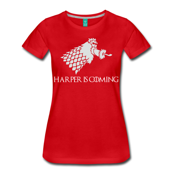 Harper is Coming Women's T-Shirt - red